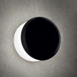 MiniWhite_Cover - runde LED-Außenwandleuchte