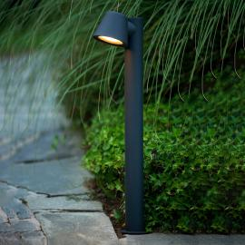 Dingo - schwarze LED-Wegeleuchte GU10