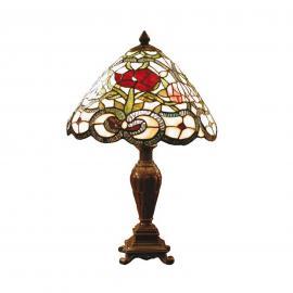 Flora - klassische Tischleuchte im Tiffanystil