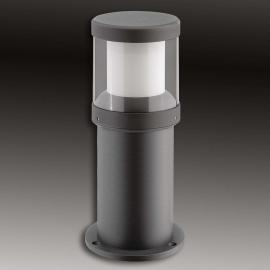 Pulverbeschichtete LED-Sockelleuchte Levent - IP65