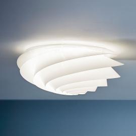 LE KLINT Swirl Medium - Wandleuchte mit LED, weiß