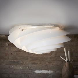LE KLINT Swirl Large - Wandleuchte mit LED, weiß