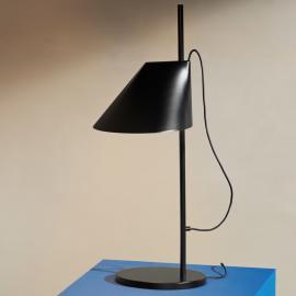 Dimmbare LED-Tischleuchte Yuh in Schwarz