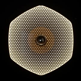 LDM Wyng Wall 6 Dot LED-Wandleuchte, bronze