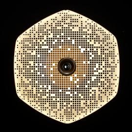 LDM Wyng Wall 6 Cube LED-Wandleuchte, bronze