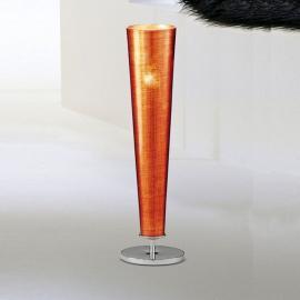 Attraktive Tischleuchte GOLD FIRE, orange