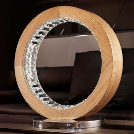 Raffinierte LED-Tischleuchte Libe Round TL40