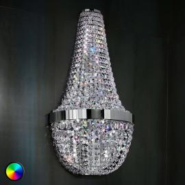 Ilaria - funkelnde Wandleuchte m. Farbwechsel-LED