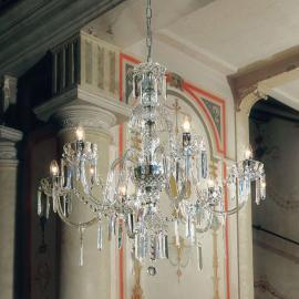 Atemberaubender Kronleuchter Victoriana, Glas