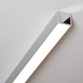 Ride LED-Deckenleuchte alu eloxiert, 85,7 cm