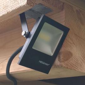 LED-Außenstrahler Tott mit robustem PC-Gehäuse