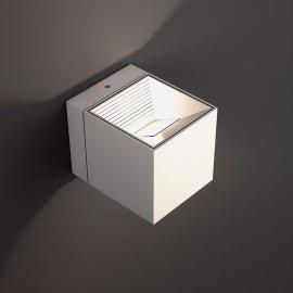 LED-Wandleuchte Dau in Weiß