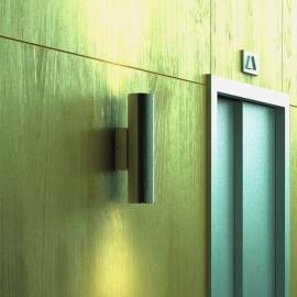 Ab- und Aufwärts leuchtende LED-Wandleuchte Kronn