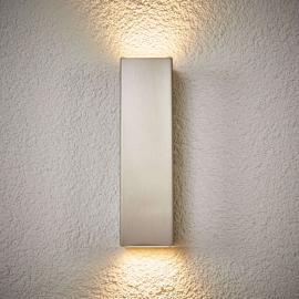 LED-Außenwandleuchte Jana aus robustem Edelstahl