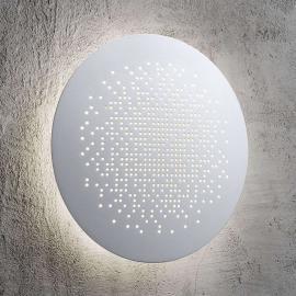 Runde LED-Wandleuchte Hunt Ø 19 cm