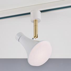 Moderner LED-Strahler Sleeky für HV-Schiene Link