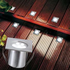Paulmann Profi Mini LED-Bodeneinbauleuchte, Basis