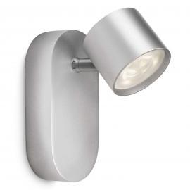 Philips Star schwenkbarer LED-Strahler grau 1flg.