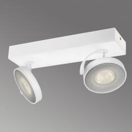 Philips Clockwork LED-Deckenstrahler weiß 2-flg.