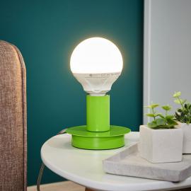 Puristische Tischleuchte Lumetto - grün