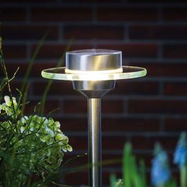 Paulmann Ufo LED-Solarleuchte mit Erdspieß