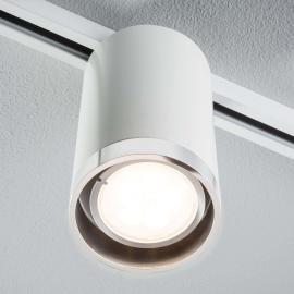 Paulmann URail Tube LED-Strahler in Weiß, starr