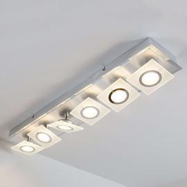Linnea LED-Deckenleuchte 6-flg., einreihig