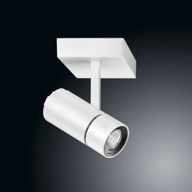 Ribag Spyke weißer LED-Strahler mit warmweißer LED