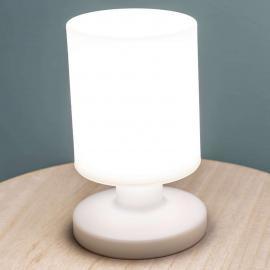 Mit Akku - LED-Tischleuchte Lora in Weiß
