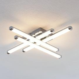 Modern erscheinende LED-Deckenleuchte Tilo