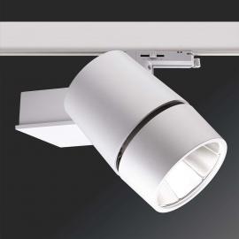 3-Phasen-LED-Schienenstrahler Vario 90 - 15°
