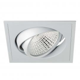 Eckiger LED-Einbaustrahler Carda Competence 15°