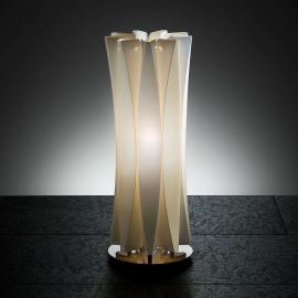 Slamp Bach Tischleuchte, Höhe 42 cm, gold