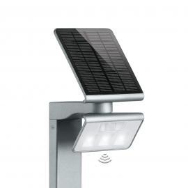 LED-Solarleuchte XSolar Stand silber
