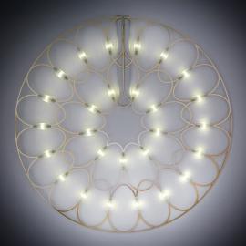 Lafra - LED-Wandleuchte und Dekorationselement