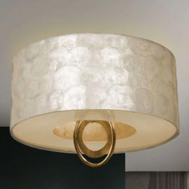 Edel schimmernde LED-Deckenleuchte Edén