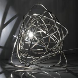 Terzani Doodle - LED-Tischleuchte in Nickel
