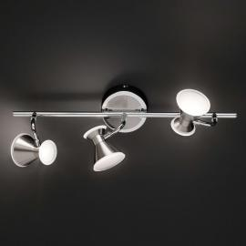 3-flammige LED-Deckenleuchte Duke