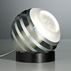 Originelle LED-Tischleuchte BULO aluminium