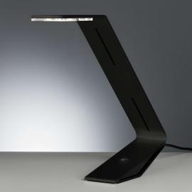 Tecnolumen Flad - LED-Tischleuchte, schwarz