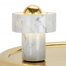 Tom Dixon Stone Table - Tischleuchte aus Marmor