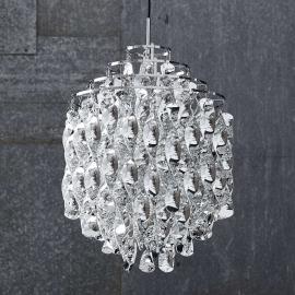 VERPAN Spiral SP01 - Pendelleuchte in Silber