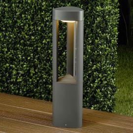 Dreieckige LED-Sockelleuchte Nanna aus Aluminium