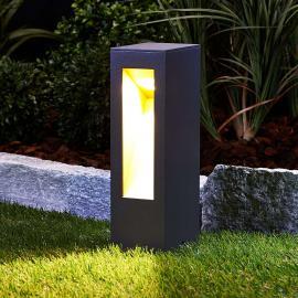 Effektvolle LED-Sockelleuchte Jenke