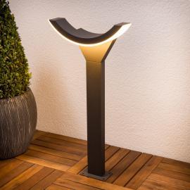 Stilvolle LED-Wegeleuchte Half
