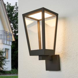Laternenförmige LED-Außenwandleuchte Chaja