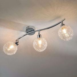 Dreiflammige LED-Deckenleuchte Ticino