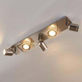 Fünfflammiger LED-Deckenstrahler Fjolla, dimmbar