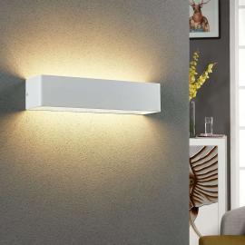 Eckige LED-Wandleuchte Lonisa für den Wohnbereich