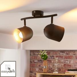Zweiflammiger LED-Strahler Morik, dimmbar